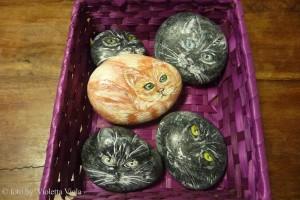 dipingere pietre