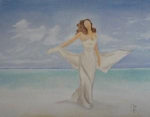 violav donna mare spiaggia