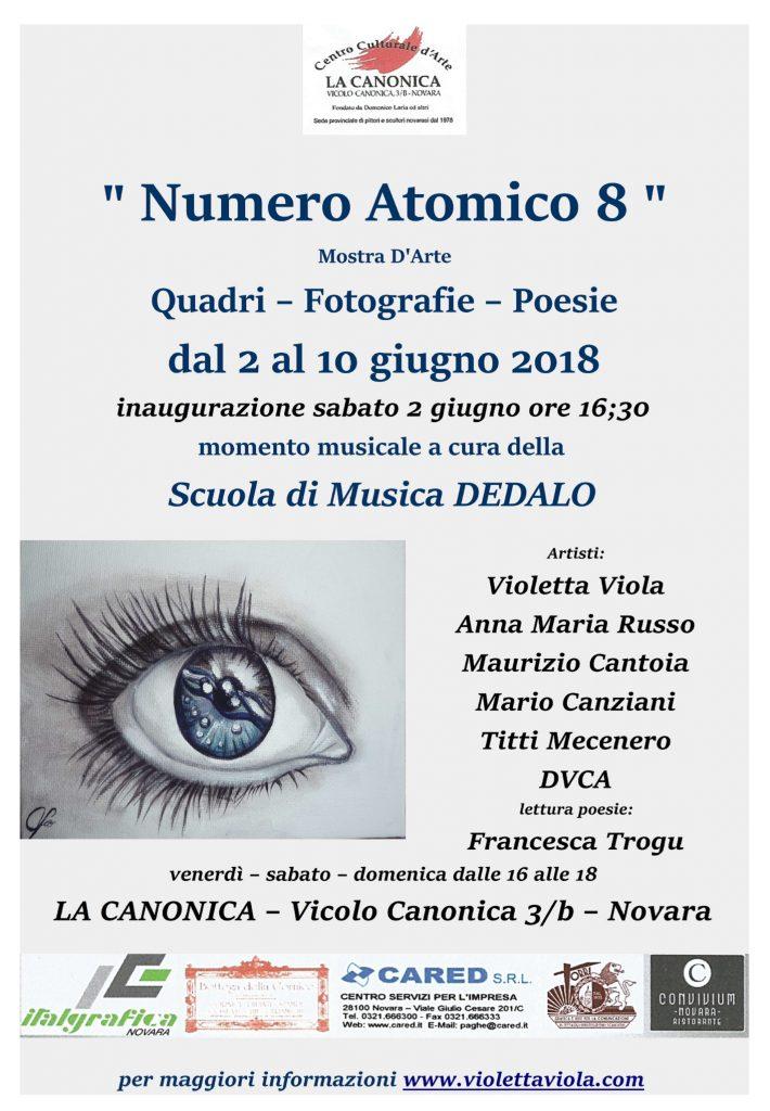 locandian evento novara numero atomico 8