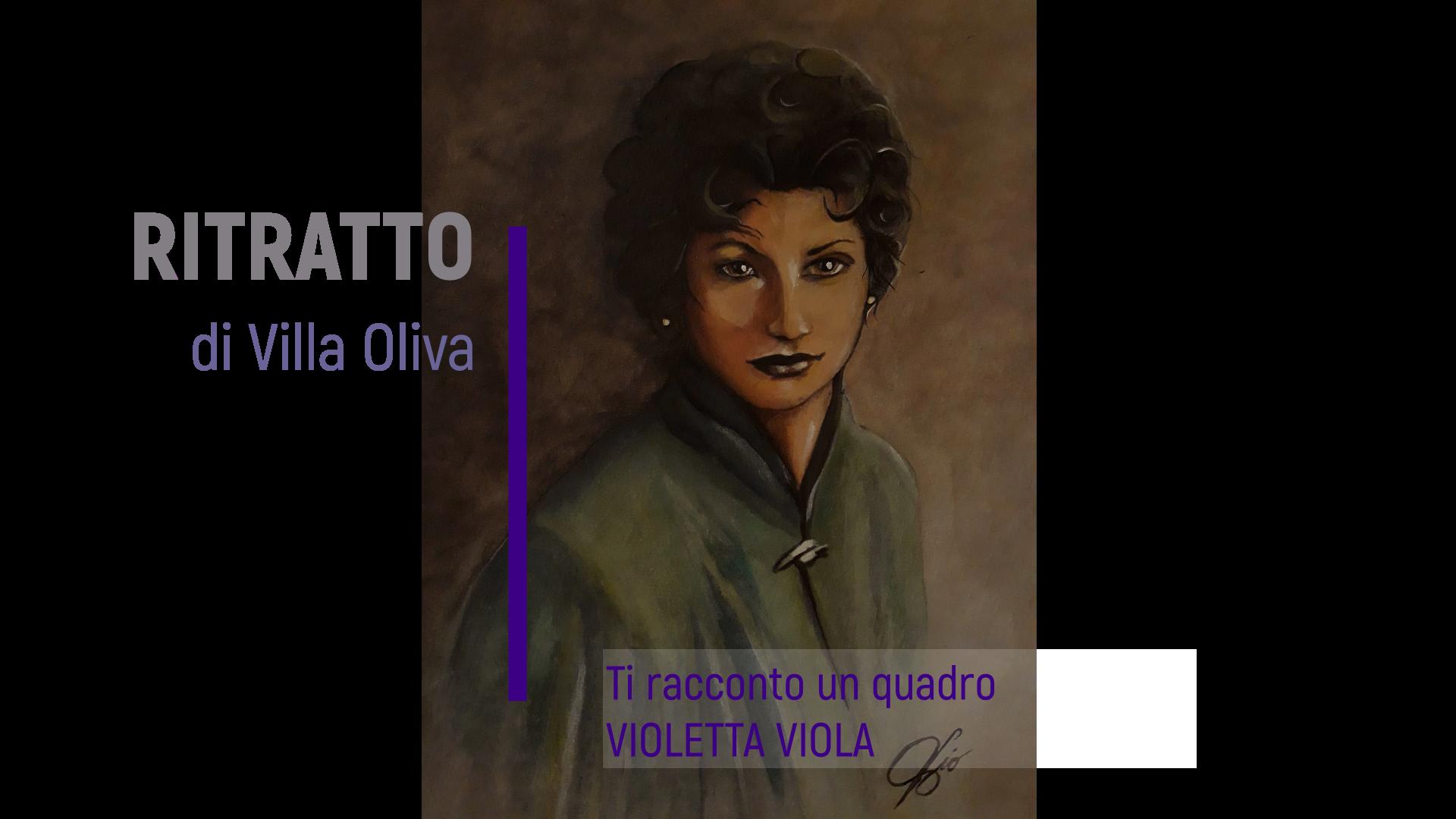 il ritratto di villa oliva
